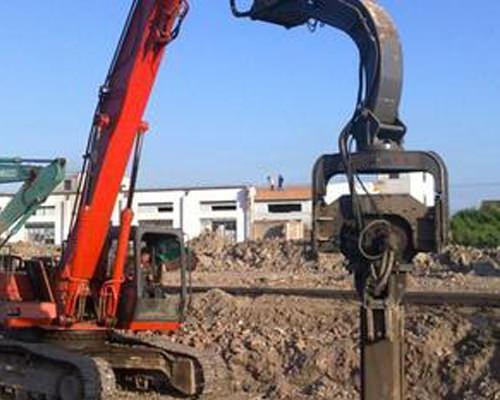 拉森鋼板樁打樁機